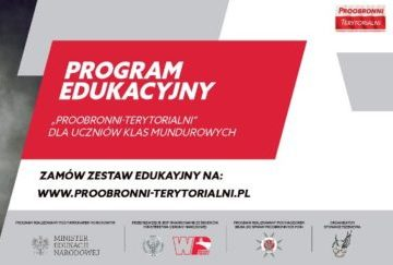"Program edukacyjny ""Proobronni-Terytorialni"""