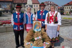 KGW Sobolów na Dożynkach Powiatowych