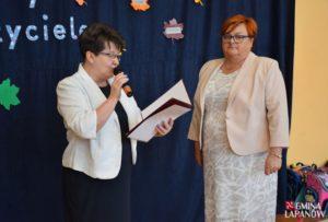 Nagrody Wójta Gminy Łapanów dla nauczycieli