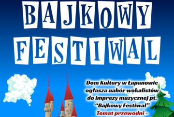 Bajkowy festiwal - Plakat