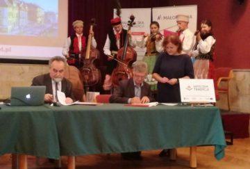 Dyrektor CKGŁ podpisał porozumienie o współpracy