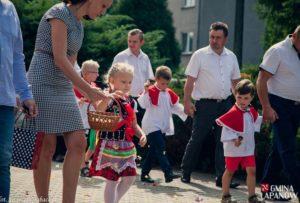 Odpust i dożynki w Łapanowie