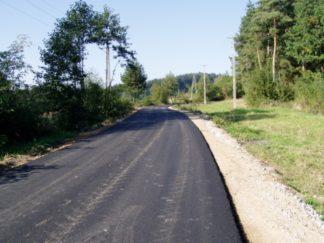 Modernizacja drogi Kobylec-Wola Wieruszycka