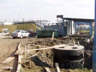 Budowa pompowni i montaż pomp
