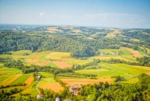 Zdjęcia z motolotni - Sobolów