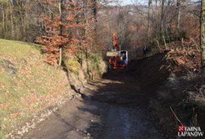 Remont drogi Kobylec - Zagórzany