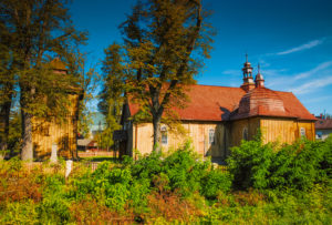 Kościół w Łapanowie fot. Jan Kulma