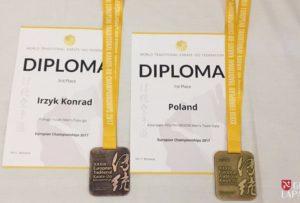 Kolejne medale Konrada Irzyka