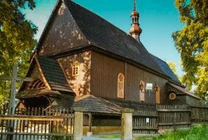 Kościół pod wezwaniem Wszystkich Świętych w Sobolowie.