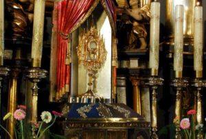 Kościół pod wezwaniem Wszystkich Świętych w Sobolowie- Tabernakulum
