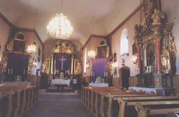 Kościół w Tarnawie - wnętrze 2
