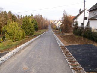 Modernizacja drogi gminnej (osiedlowej) Łapanów-Wymysłów